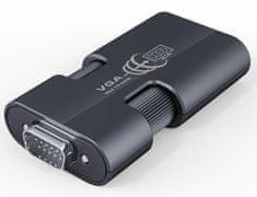 PremiumCord VGA + audio elektroniczny konwerter na rozdzielczość HDMI khcon-23