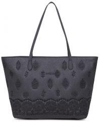 Desigual ženska torbica Bols Paola Capri Zipper, crna