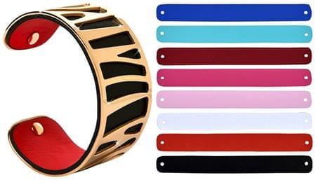 Troli Zamenljive barve 31 mm jeklena zapestnica VI.
