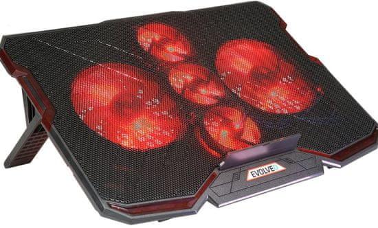 Evolveo Ania 2, chladicí podstavec pro notebook - rozbaleno