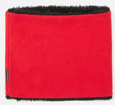 Brekka otroški šal iz dvojnega flisa, 54, rdeč