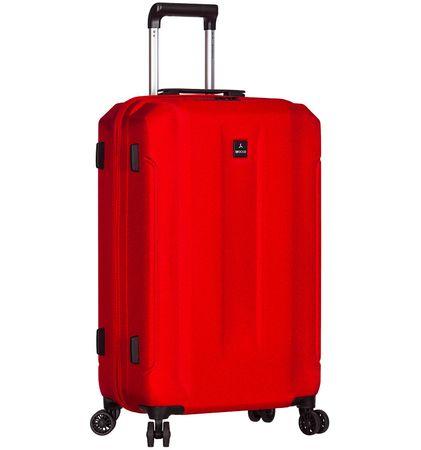 Sirocco Cestovný kufor T-1177/3-M ABS červená