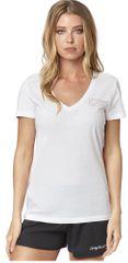 FOX T-shirt damski Tracker Ss V Neck Tee