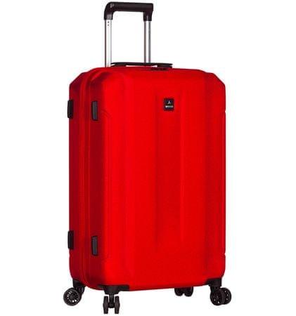Sirocco Cestovný kufor T-1177/3-L ABS červená