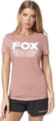 FOX T-shirt damski Ascot Ss Crew Tee