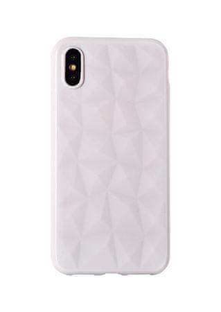 maskica Diamond za Samsung Galaxy J4 Plus 2018 J415, bijela