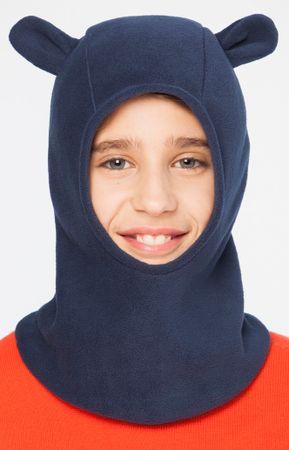Brekka chlapecká kukla s oušky Fleece Lotar Ears 52 modrá