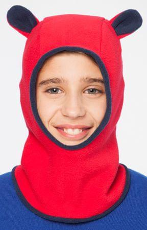 Brekka gyerek símaszk fülekkel Fleece Lotar Ears 54 piros