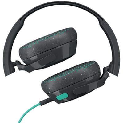 Slúchadlá Skullcandy Riff On-Ear Tap čisté výšky zamatové basy náušníky z pamäťovej peny