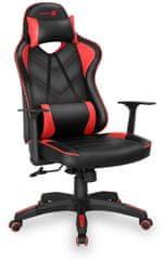 Connect IT fotel komputerowy LeMans Pro, czerwony (CGC-0700-RD)