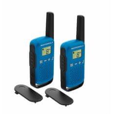Motorola TLKR T42 walkie-talkie, plava