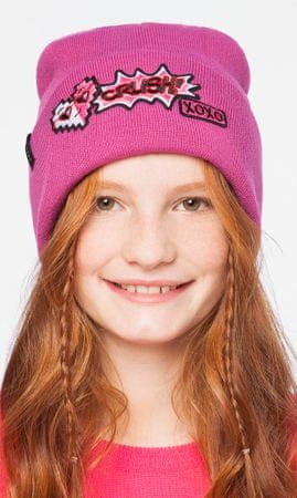 Brekka dekliška kapa Pop Patch Beanie, 54, roza
