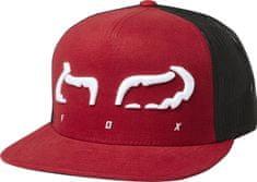 FOX pánská červená trucker kšiltovka Strap Snapback Hat