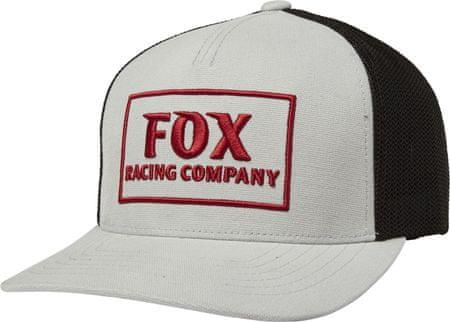 FOX férfi trucker siltes sapka Heater Snapback Hat szürke