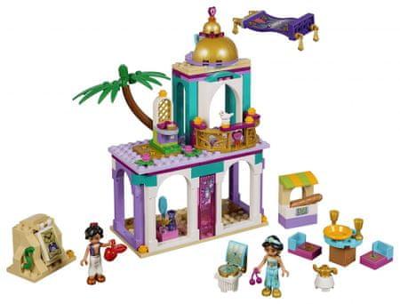 LEGO Disney Princess 41161 Pałacowe przygody Aladyna i Dżasminy