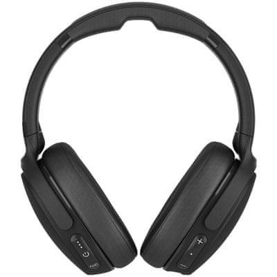 Sluchátka Skullcandy Venue potlačení okolního ruchu tlačítka na sluchátkách pro ovládání