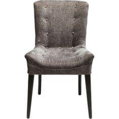 KARE Židle Stay - tmavě šedá