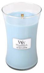 Woodwick dišeča sveča Morska sol in bombaž, 609,5 g