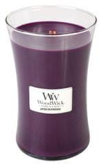 Woodwick Vonná sviečka Pikantná ostružina, 609,5 g