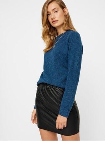 c24389c02b81 Vero Moda černá koženková sukně Riley L