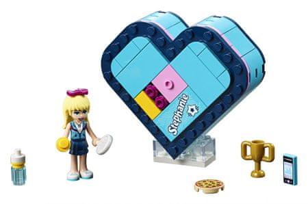 LEGO Friends 41356 Stephanie szívecskés doboza
