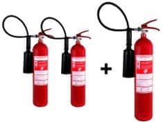 Hastex CO2 tűzoltó készülék (hó) 5kg - S 5 H 2 + 1 ingyenes