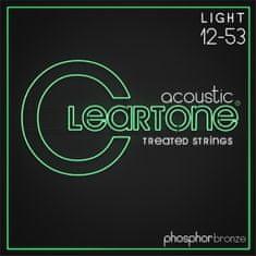 Cleartone Phosphor Bronze 12-53 Light 2-Pack Kovové struny na akustickú gitaru
