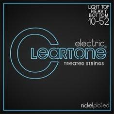 Cleartone Nickel Plated 10-52 Light Top/Heavy Bottom Struny na elektrickú gitaru
