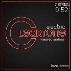 Cleartone Heavy Series 7-String 9-52 Struny na sedemstrunovú elektrickú gitaru