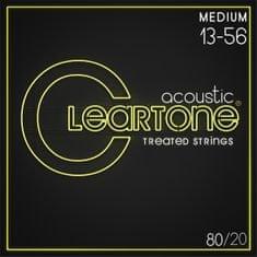 Cleartone 80/20 Bronze 13-56 Medium Kovové struny na akustickú gitaru