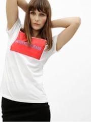 Calvin Klein Jeans bílé dámské tričko s potiskem