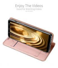 torbica za Samsung Galaxy J6 2018 J610, preklopna, roza