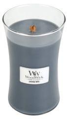 Woodwick Dišeča sveča Večerni oniks, 609,5 g