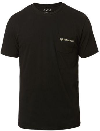 FOX férfi póló Resin Ss Airline Tee M fekete