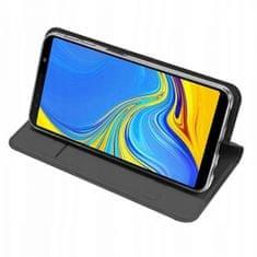 torbica za Samsung Galaxy J6 2018 J610, preklopna, crna