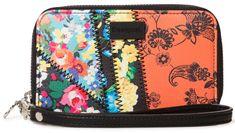 Desigual Mone Gipsy Mini Zip színes női pénztárca