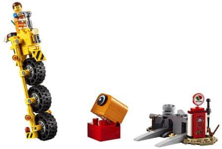 LEGO zestaw klocków Movie 70823 Trójkołowiec Emmeta