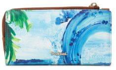 Desigual Mone Landscape Ocean kék női pénztárca