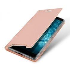 torbica, za Samsung Galaxy A7 2018 A750, preklopna, roza
