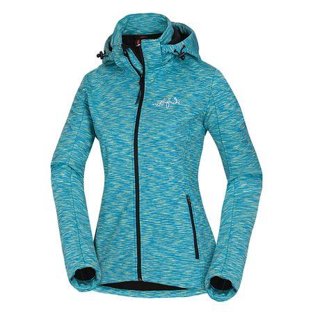 Northfinder jakna s kapuco Melange Lilu, ženska, modra, S