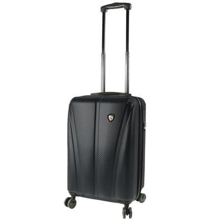 Mia Toro potovalni kovček M1238/3-S, črn