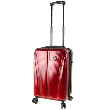 Mia Toro potovalni kovček M1238/3-S, vinski