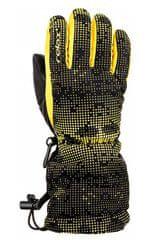 Relax dětské vzorované lyžařské rukavice