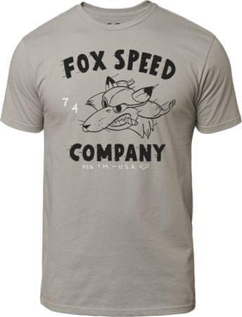 c839739f9b FOX férfi póló Bomber Ss Premium Tee M szürke | MALL.HU