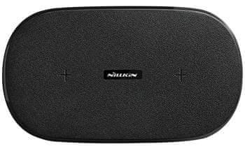 Nillkin Gemini dual fast wireless charging pad (Supports 5 W, 7,5 W, 10 W) (EU Blister) 2440550