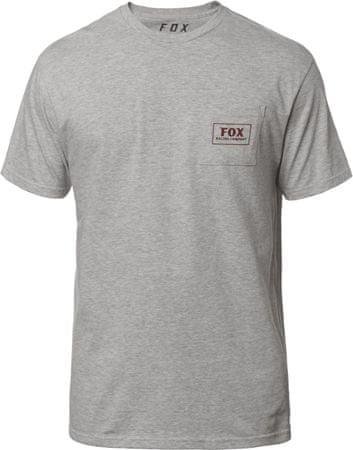 39f9651a11 FOX férfi póló Heater Ss Pocket Tee XL szürke | MALL.HU