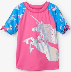 Hatley koszulka do pływania dziewczęca UV 50+