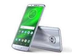 MOTOROLA telefon Moto G6 Plus, Nimbus Blue (PAAV0000RO)