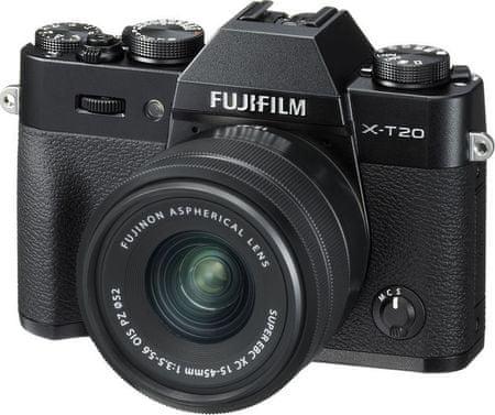 FujiFilm X-T20 + XC 15-45 Black