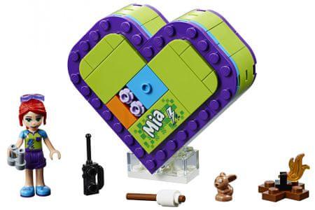 LEGO zestaw Friends 41358 Pudełko w kształcie serca Mii